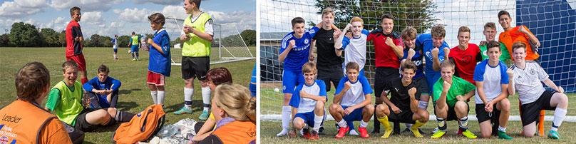 Fußball Gruppe | Bild: Katri Faehling