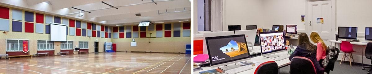 Thornton-College Sporthalle | Computerraum