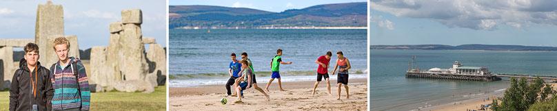 Beach football, Bournemouth Pier