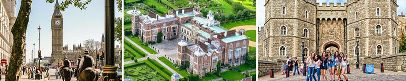 London | Hatfield House | Windsor