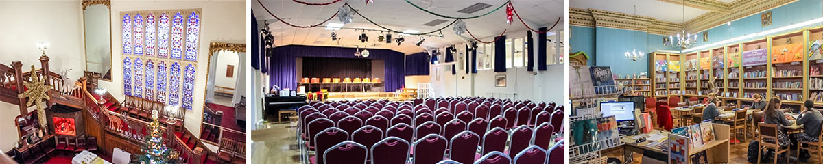 Thornton College Eingangshalle | Theater | Bücherei