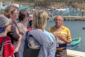 Ausflug mit Reiseführer   Sprachreisen Malta für Erwachsene