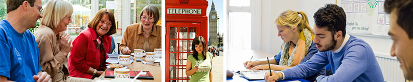 Erwachsenen Sprachreise nach England