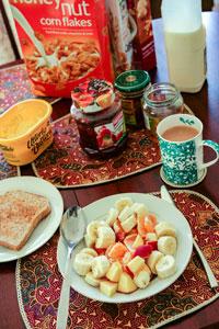 Frühstück   Erwachsenensprachreise England