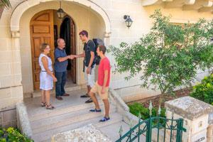 Unterbringung bei privaten Gastgebern auf Malta