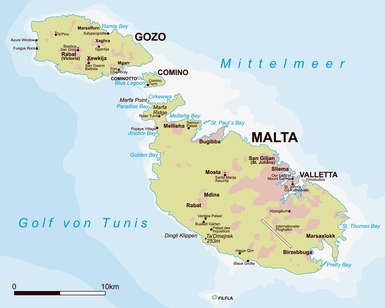 Malta Karte