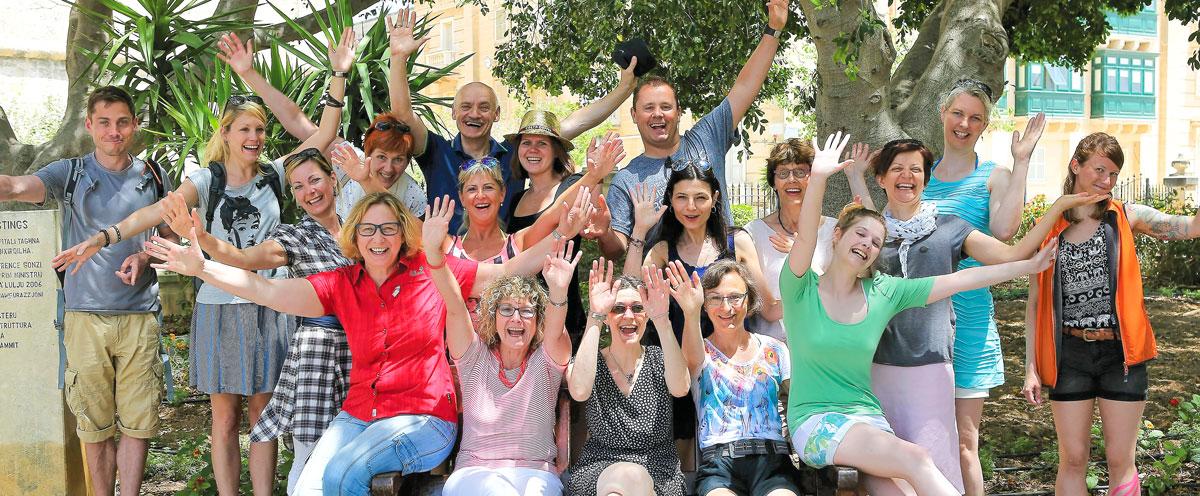 Sprachreisen für Erwachsene nach Malta